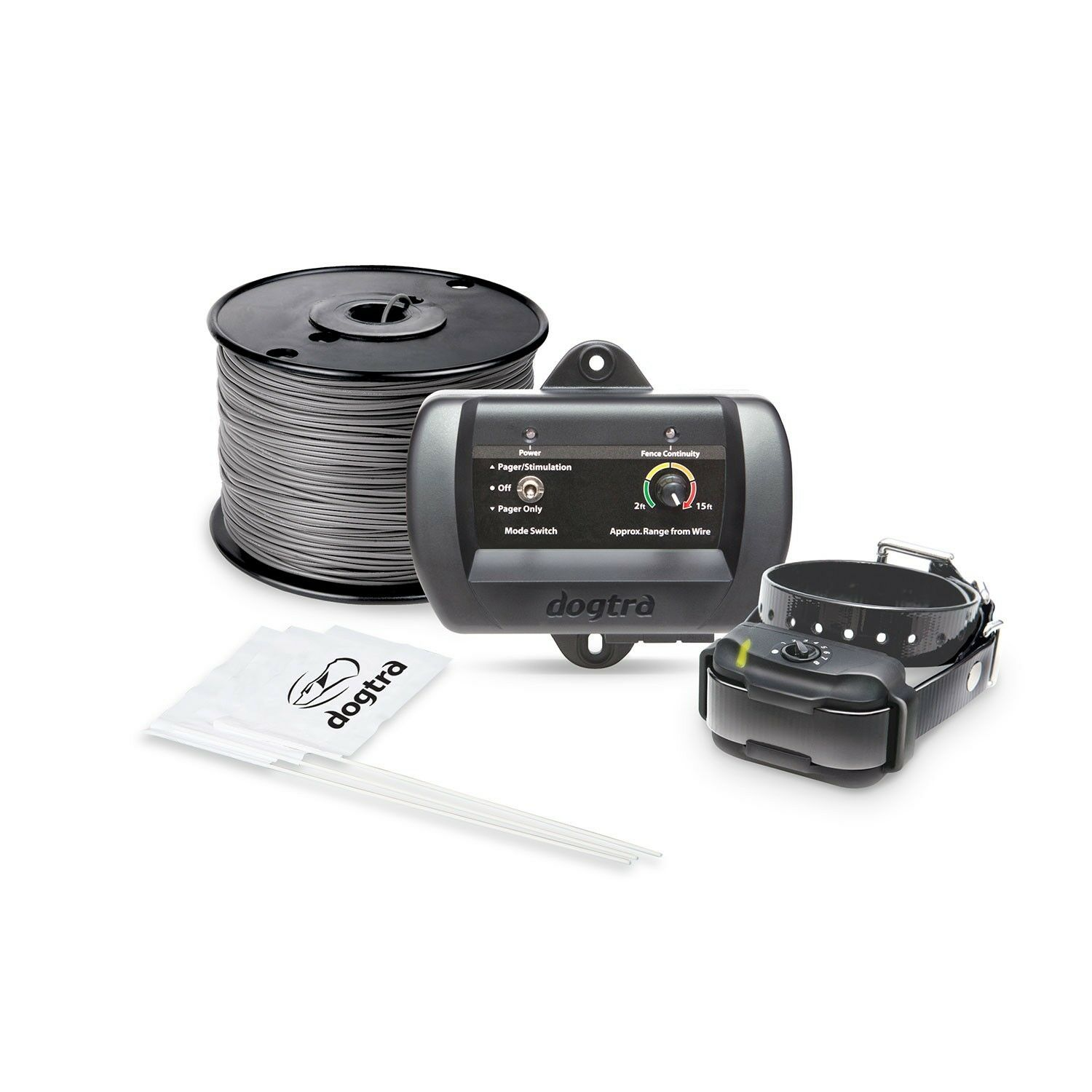 Dogtra Dogtra Dogtra Rechargeable EF3500 E-fence Underground Wire & flags ff9b81