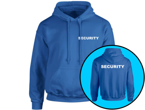 Security Workwear Unisex Hoodie 8 Colours