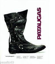 PUBLICITE ADVERTISING 016  2007  Pataugas chaussures boots