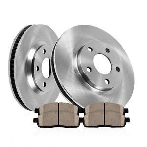 Rotors Ceramic Pads F 2013 2014 Fits Hyundai Elantra Coupe OE Replacement