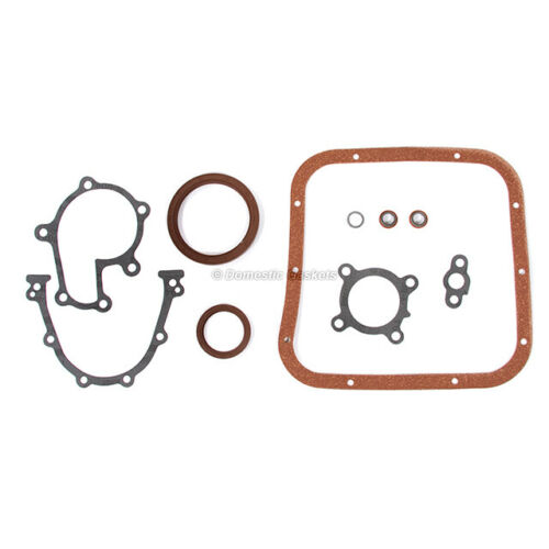 Fits 93-97 Nissan Altima 2.4L DOHC Full Gasket Pistons Bearings Rings Set KA24DE