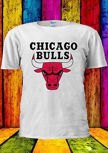 824bc48a2796 Mitchell   Ness NBA Chicago Bulls T-shirt Vest Tank Top Men Women ...