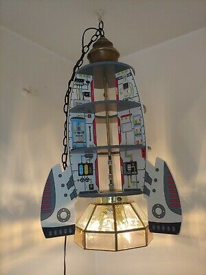 Rocket Ship Decor Ceiling Light Kids Room Decor Children S Christmas Gift Ebay