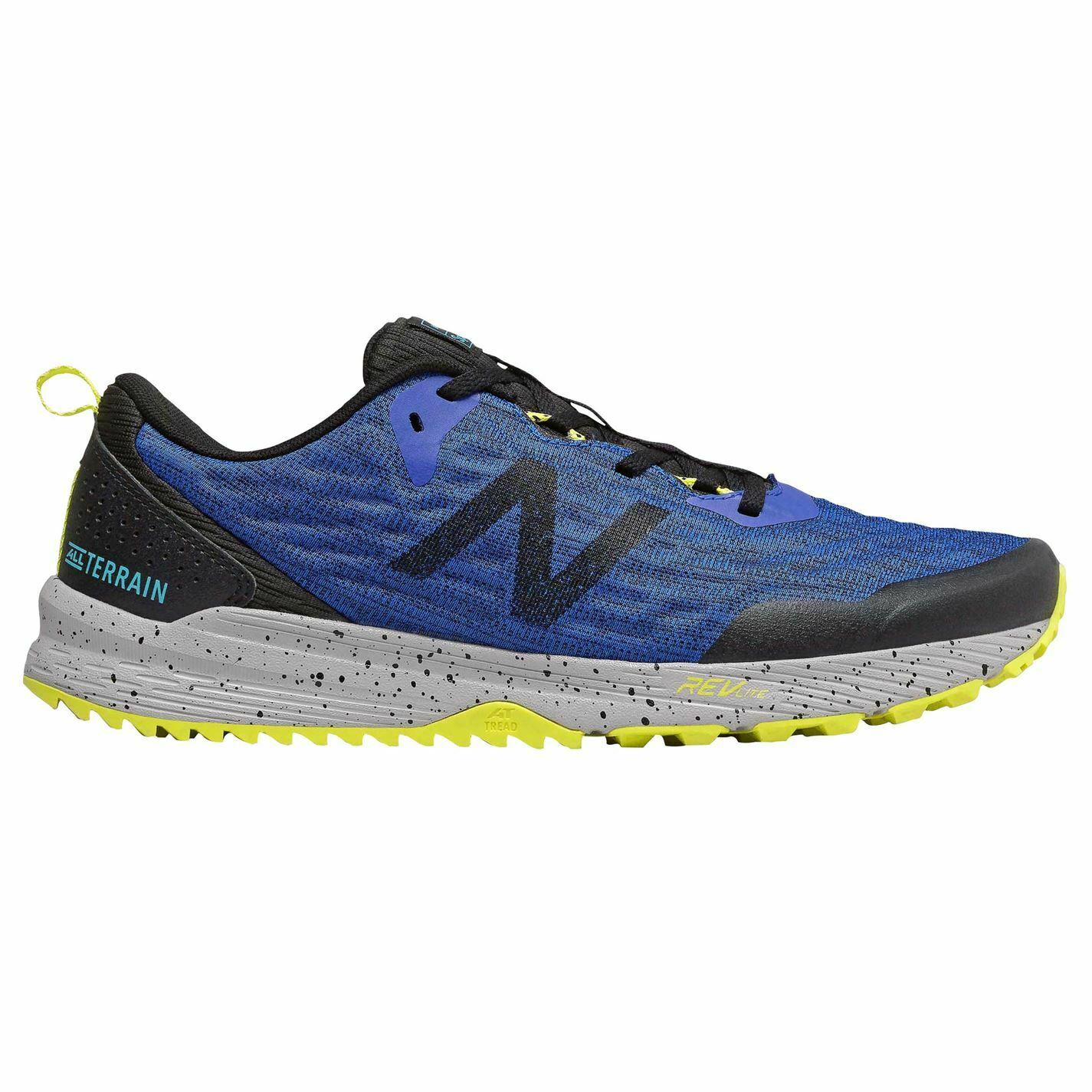 New Balance Nitrel Trail Laufen schuhe Herren Gents Laces Fastened Ventilated
