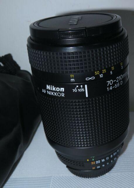 Nikon AF Nikkor 70-210mm 1: 4.0-5.6 D Lens MADE IN JAPAN