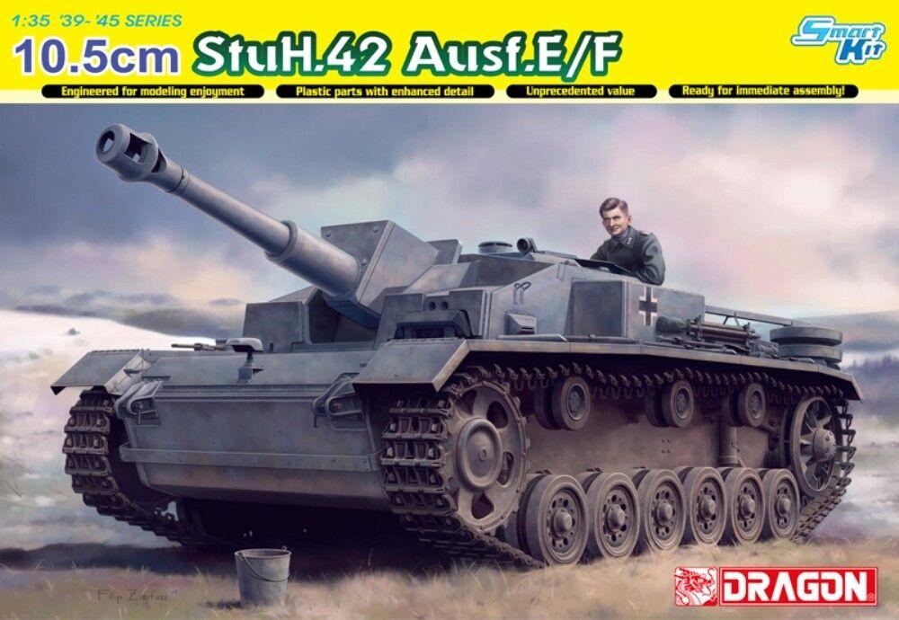 DRAGON 6834 10.5cm StuH.42 Ausf.E F  | Ausgezeichnetes Preis