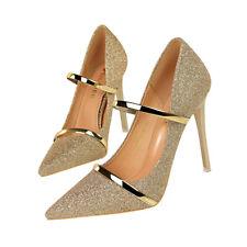 bd415b41c26 item 2 Ladies High Heels Pointed Toe Stiletto Court Shoes Wedding Shiny  Belt Strap Sexy -Ladies High Heels Pointed Toe Stiletto Court Shoes Wedding  Shiny ...