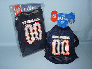 7bfc0a9f96a Chicago Bears DOG/PET JERSEY size Small by Hunter Mfg NIP | eBay