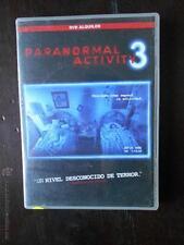 DVD PARANORMAL ACTIVITY 3 - EDICION DE ALQUILER