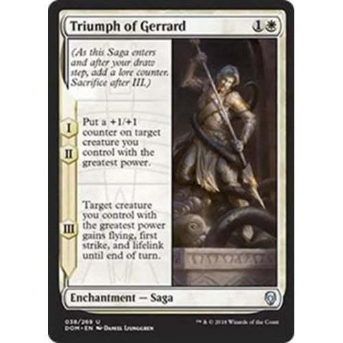 MTG Dominaria * Triumph of Gerrard