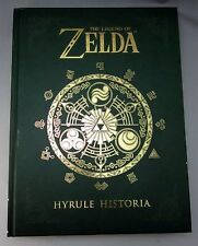 The Legend of Zelda Hyrule Historia by Miyamoto Hardcover Book Nintendo