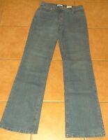 blaue Damen JEANS Hose Marco Pecci 34-36 L32  W30 blau Stretch-Jeans Schlaghosen