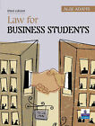 Law for Business Students by Alix Adams (Paperback, 2003)