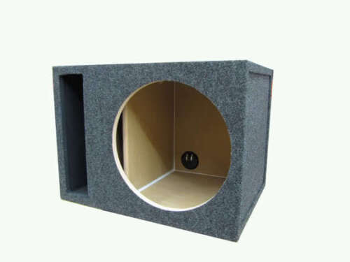 "12/"" Single Subwoofer Box Labyrinth Vented 3//4/"" MDF"