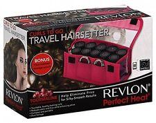 Revlon Electric Heat Curler Waves Ceramic Hot Rollers Travel Hair Setter Styling