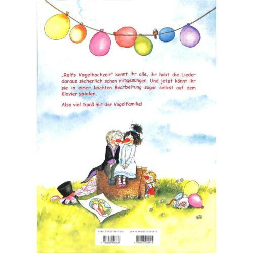 Noten - Rolfs Vogelhochzeit Das Klavieralbum für Kinder Zuckowski R 1156