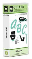 Billionaire Mustache Font Cricut Cartridge Factory Sealed Free Ship