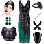 1920s-Vintage-Costume-Flapper-Gatsby-Wedding-Party-Layered-Tassel-Cocktail-Dress