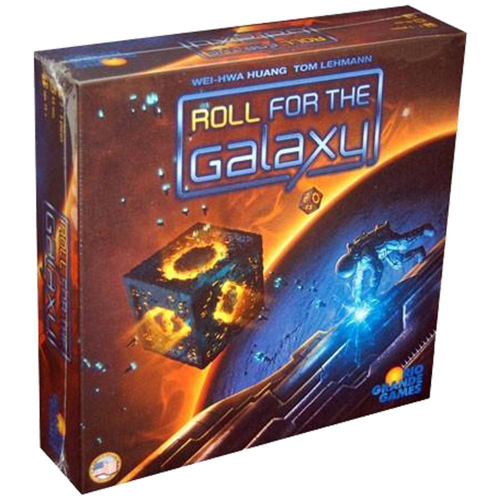 Roll for the Galaxy - Board Game Family Games Strategy Adult Geek Games Indoor