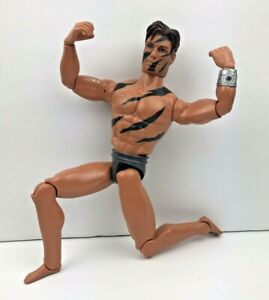 1998-Mattel-Max-Steel-Seal-12-034-Muscle-Action-Figure-Bionic-Arm-Jointed