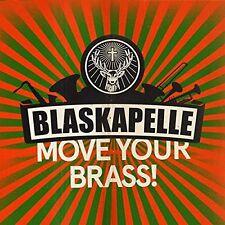 BLASKAPELLE - MOVE YOUR BRASS  CD NEU