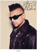 SEAN PAUL AUTOGRAPHED SIGNED A4 PP POSTER PHOTO