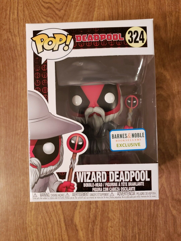 Wizard Deadpool Barnes and Noble Funko Pop