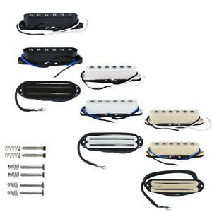 NEW-Strat-SSS-Guitar-Pickup-Set-Alnico-5-Single-Coil-amp-Ceramic-Hot-Rail-Pickups
