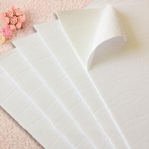 10St-A4-Doppelseitige-Schaum-Klebeband-Sponge-Blaetter-DIY-Bastel-Material-Starke