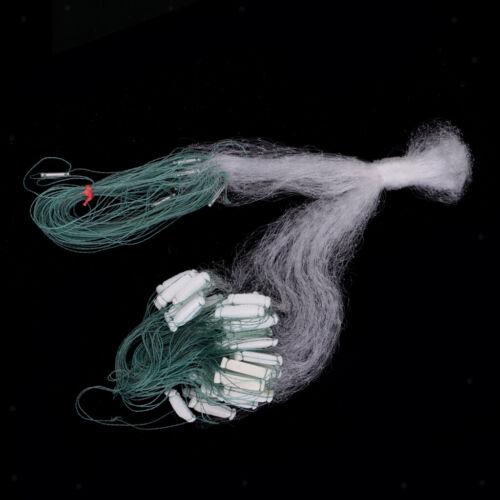 Sinkendes Fischen Gill Net 1 Lagen Nylon Casting Net Mesh Köder Fischfalle