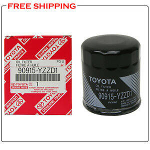 2008 toyota camry oil filter type