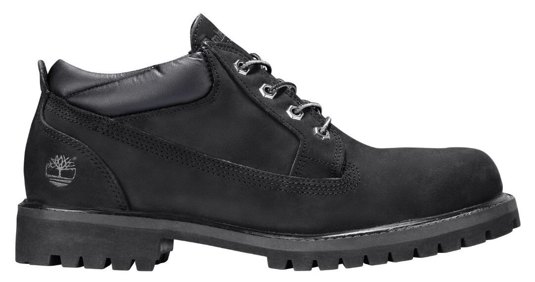 Timberland Men's Icon Premium Waterproof Oxford Black Full Grain 10 C US