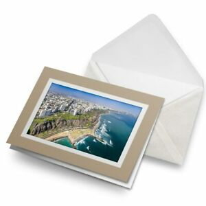Greetings-Card-Biege-Lima-Peru-Beach-Landscape-View-21791