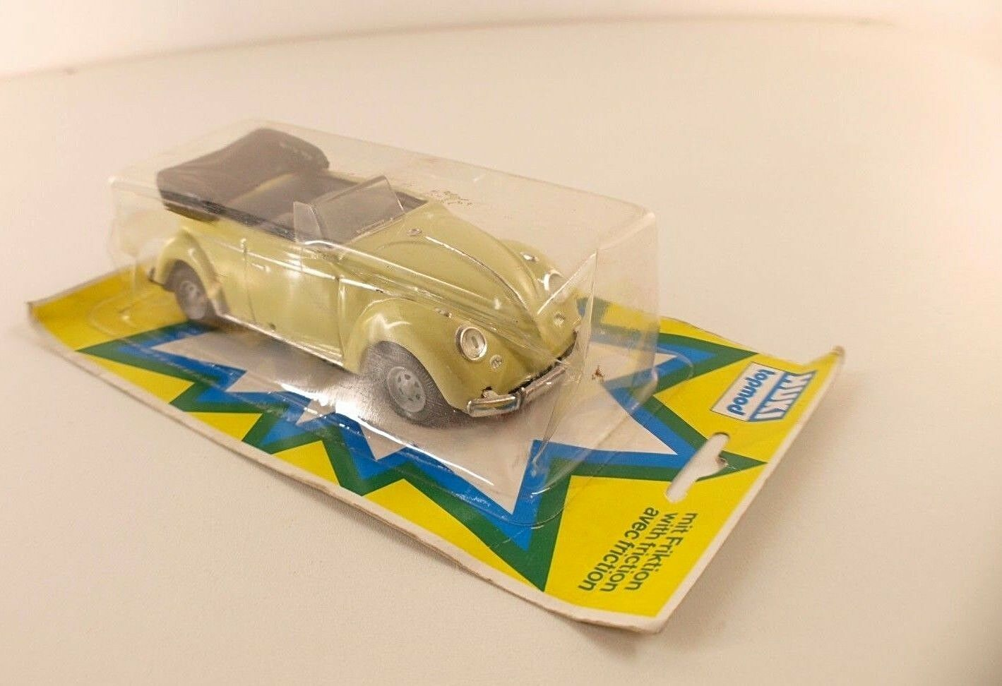 Huki aggre 208 VW Roadster Congreenible Friction 14 cm never sorti Boxed Box