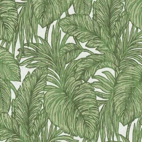 Hacienda Green Large Leaf Paste the Wall Wallpaper 5410-07