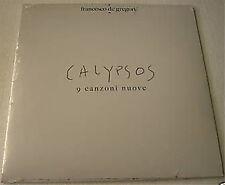 FRANCESCO DE GREGORI - CALYPSOS - LP VINYL 2008 NEW SEALED NUMBERED COPY # 126