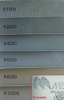 Micro-Mesh Abrasive sheets 1500-12000 Profi Schleifpapier Weichholz Micro Mesh