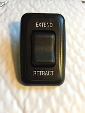 Awning Extend Retract Switch 13amp 12v DC Black Camper Trailer RV New On Shelf