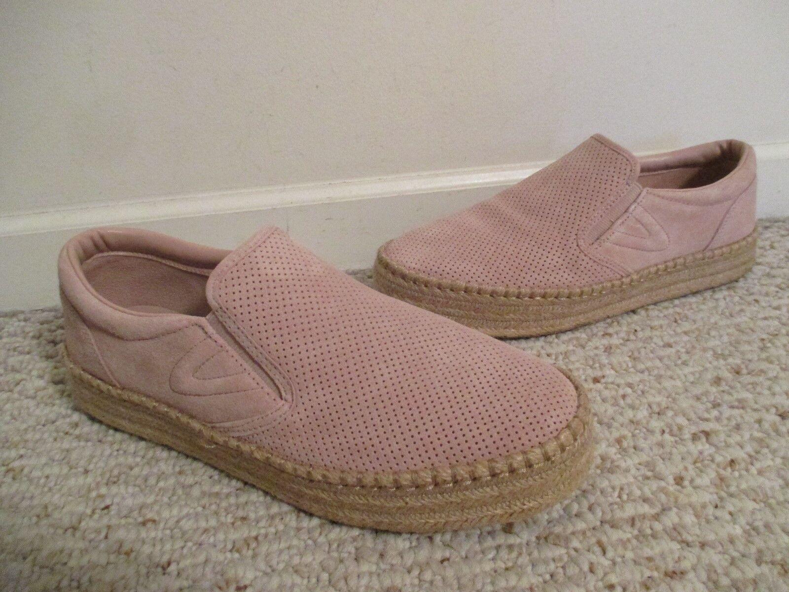 Tretorn Emilia Espadrille Pink Blush Schuhes Größe 9.5  NEW