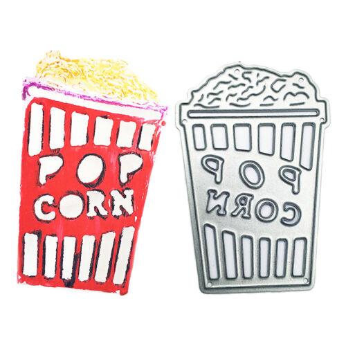 Halloween theme Popcorn Metal Cutting Dies For Scrapbooking Paper Card Craft/_sh