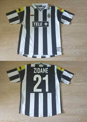 L Juventus Shirt Jersey Italy Football Zidane France Real Madrid Bordeaux Ebay