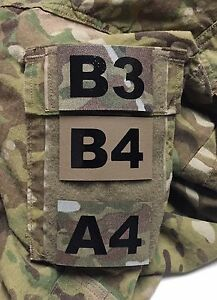 Custom-Operator-Unit-ID-Number-Patch-IR-Infrared-Hook-Military-Multicam-Tan