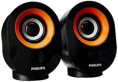 Philips SPA50G/94 Portable Mobile/Tablet Speaker  (Gold , 2.0 Channel)
