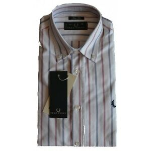 Camicia-Fred-Perry-Uomo-Men-shirt-slim-fit-button-down30213292