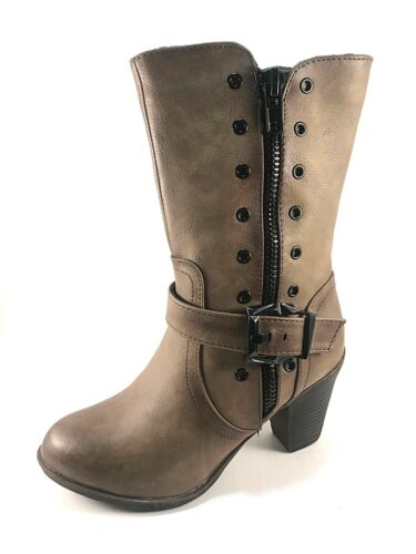 Italina By Summer Rio BD6508 Mid-Calf Casual Boots Choose Sz//Color