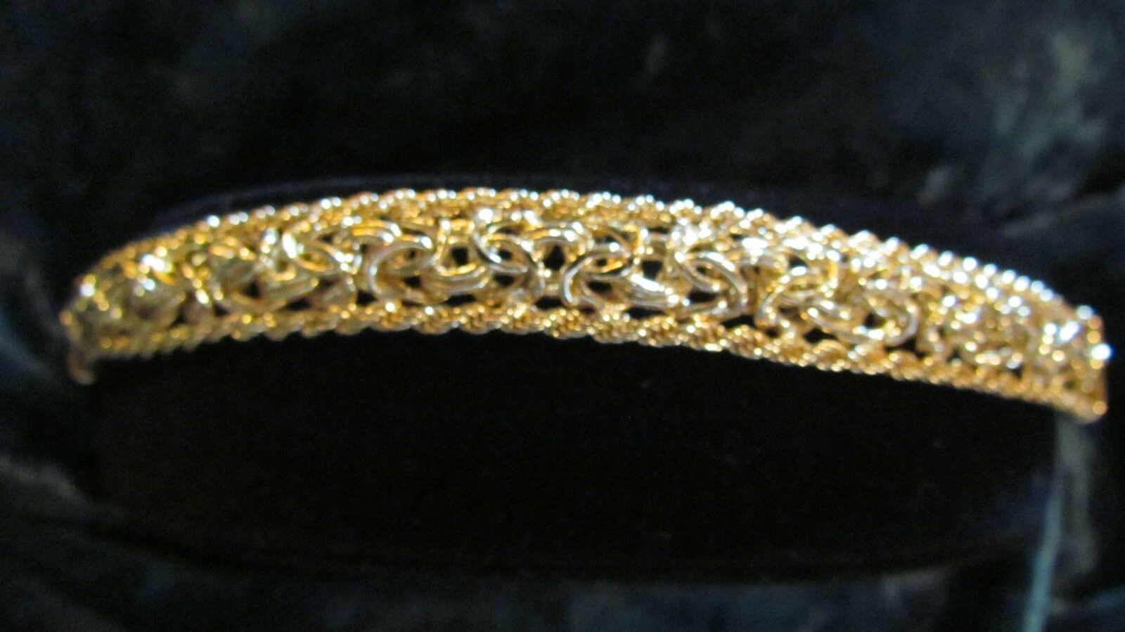 HSN Technibond Rope Trim Byzantine (gold Over Sterling) 7