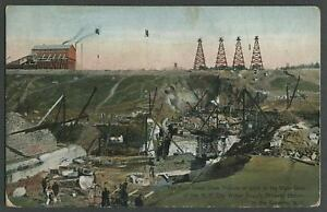 Olive-Ulster-Co-NY-c-1910-Postcard-BROWN-039-S-STATION-DAM-4-GREAT-DRAW-TOWERS