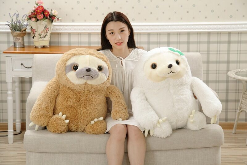 Cute Giant Sloth Plush soft toys Doll Stuffed Animal Toy Pillow Kids Party Gift