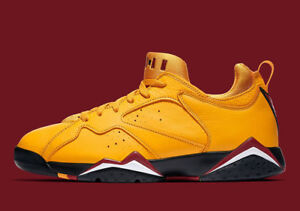 low priced 537df a09e4 Details about 2018 Nike Air Jordan 7 VII Retro Low Size 14 Taxi Yellow  Cardinal. AR4422-701