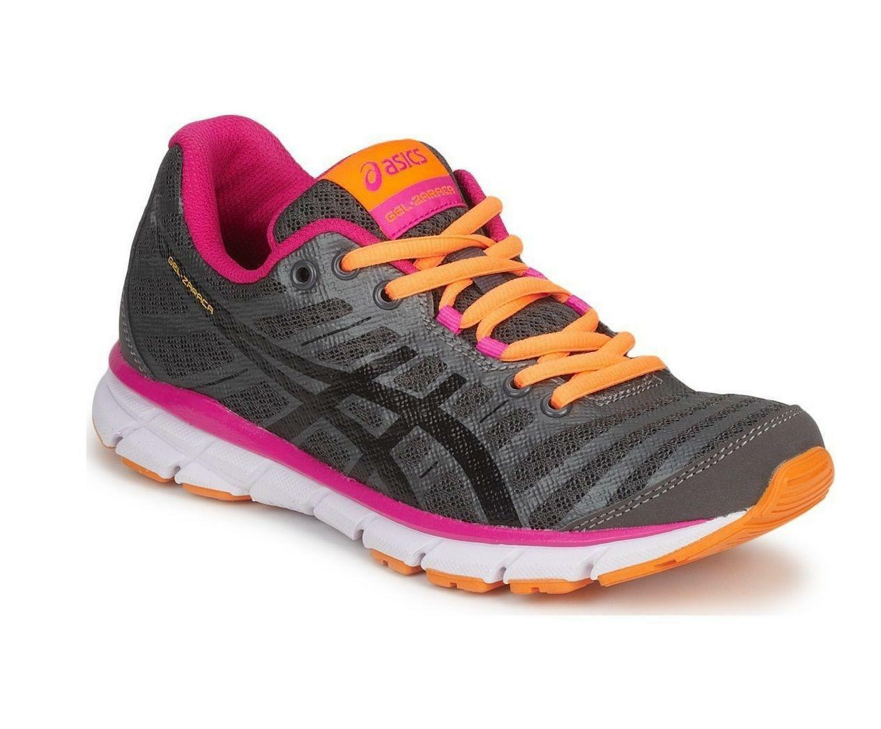 Womens ASICS GEL ZARACA 2 Grey Pink Running Trainers T3A9N 7390 Cheap and beautiful fashion